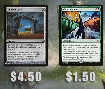 Image - Dolmen Gate ($4.50), Myth Unbound ($1.50)